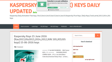 kis 2014 keys