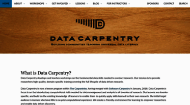 datacarpentry.org