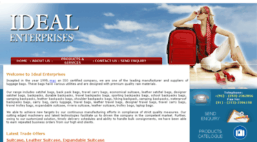 idealluggage.co.in