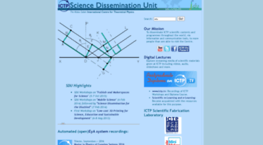 sdu.ictp.it