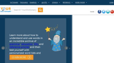 your dictionary word finder