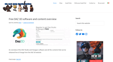 Get 3ddsaddict com news - 3D and DAZ Studio Addict   3D and