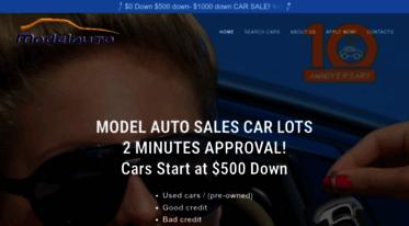 500 Down Car Lots >> Get 500downcar Com News Model Auto Sales Car Lots 500