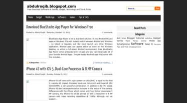 Get Abdulroqib blogspot com news - Free Download softwares