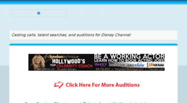 Get Actinginfo blogspot com news - Disney Channel Auditions