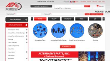 Get Altparts com news - Amada America Parts - Top Amada
