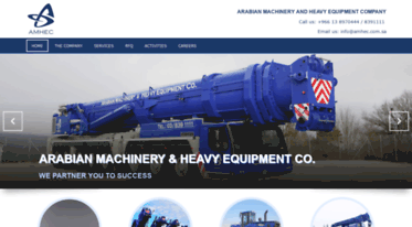 Image result for Arabian Machinery & Heavy Equipment Company, Saudi Arabia