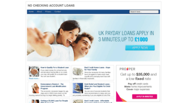 Loans Without Checking Account >> Get Anapimentavip Blogspot Com News No Checking Account