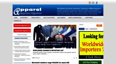 Get Apparel-importers-exporters blogspot com news - Free
