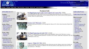 Get Audioasylumtrader com news - Audio Asylum Trader - For