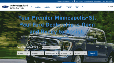 Ford Dealership Near Me >> Get Autonationfordwhitebearlake Com News Ford Dealership