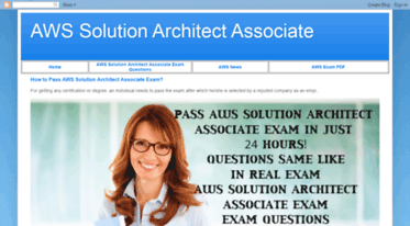 Get Aws-solution-architect-associate blogspot com news - AWS