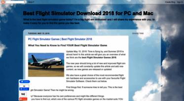 Get Bestflightsimulatordownload blogspot com news - Best