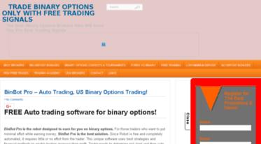 binary options pro signals european