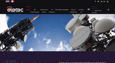 Get Broadcasteletec com news - Broadcast Equipment FM