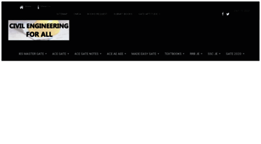 Get Civilenggforall com news - CIVIL ENGINEERING FOR ALL