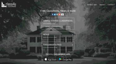 Get Classi4u com news - Free Classified Ads, Local Ads, Free