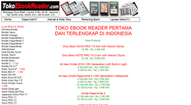 Get Clickbookshop com news - Jual Kindle PaperWhite 4 GB 300