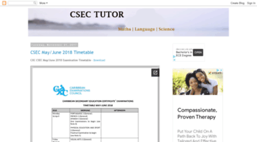 Get Cxctutor blogspot com news - CSEC CXC Exam Past Papers