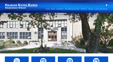 DAWES Cps. Charles Gates Dawes Comprehensive Gifted Program School is a Chicago Public School located on Chicago's southwest side. Dawes.