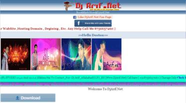 Get Djarif net news - DjArif Net | Free Bollywood Songs, DJ Remix