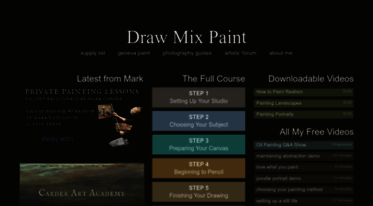 Get Drawmixpaint Com News Draw Mix Paint Learn To Paint Realism