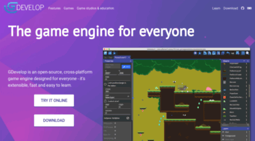 Get En compilgames net news - GDevelop - Create games without