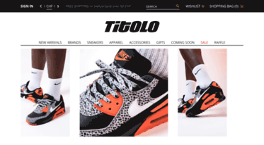 Get news Titolo Sneaker Onlineshop