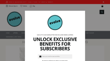 evolvehairsupplies.co.uk