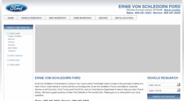 Ernie Von Schledorn >> Get Evsford Net News Ernie Von Schledorn Ford Ford