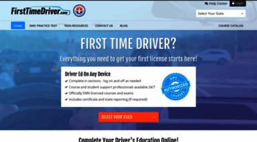 Drivers Ed Online >> Get Firsttimedriver Com News Drivers Ed Online Learner S
