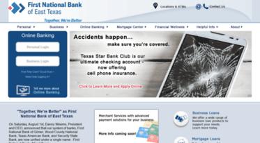 Get Fnbgilmer com news - First National Bank of Gilmer