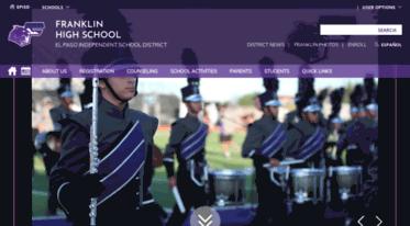 Get Franklin Episd Org News Franklin High School Homepage
