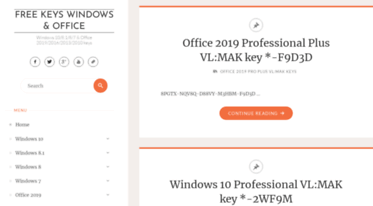 office 2016 mak keys