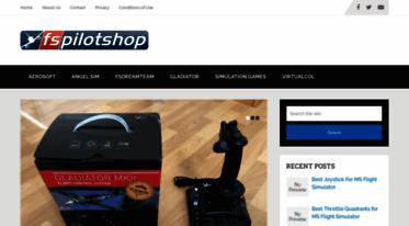 Get Fspilotshop com news - Flight Sim Software & Hardware