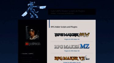 Get Galvs-scripts com news - Galv's RPG Maker Scripts
