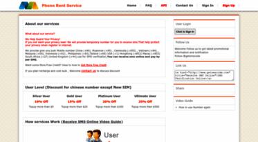 Get Getsmscode com news - Receive SMS Online Service,Bulk Mobile