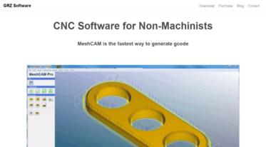 Get Grzsoftware com news - MeshCAM - CNC Software - CAD/CAM