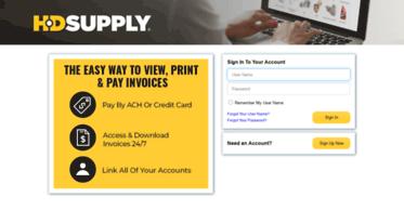 Get Hdsupplyfacilitiesbilltrustcom News HD Supply Facilities - Invoice gateway