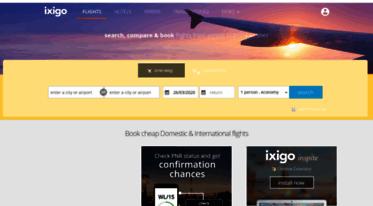 Cheap Flights Domestic India Ixigo