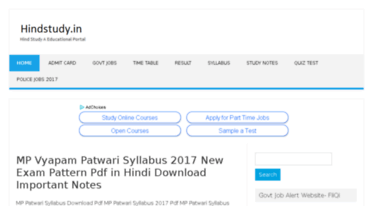 Get Hindstudy co in news - Hindstudy - Hind Study A