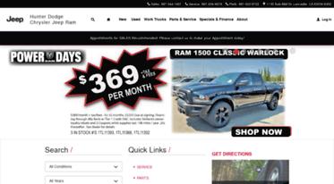 Get Hunterdodgechryslerjeep.net news - Lancaster, CA Dodge ...