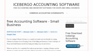 Get Icebergo blogspot com news - Free Accounting Software
