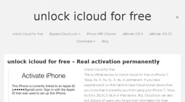 Get Icloudfreeunlock com news - Unlock icloud for free - Real