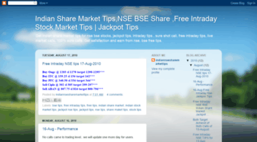 Get Indian-nse-bse-share-market-tips blogspot com news - Indian