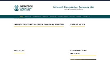 Get Infratech com bd news - Infratech Construction Company