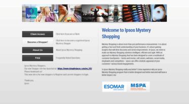 ipsosus shopmetrics login