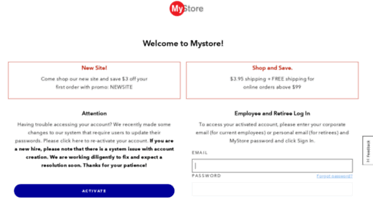 Jnj My Store >> Get Jjmystore Com News Mystore For J J Employees Retirees