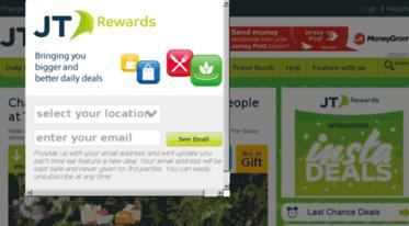 jt rewards daily deals