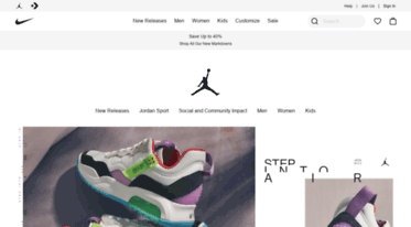 reputable site b9794 bae41 See what s happening with Nike Jordan at Nike.com. Learn about the latest  products, news, and more. Connect with us online  .